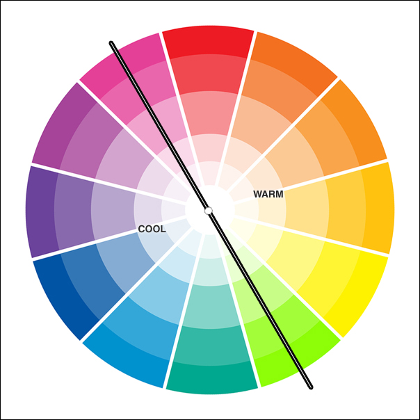 5. Cool colors