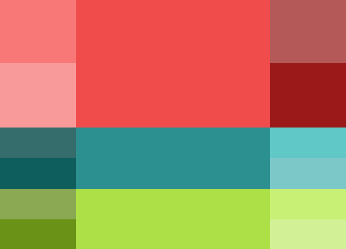 Triad Color Scheme. Screen shot 2014-05-27 at 6.16.57 PM